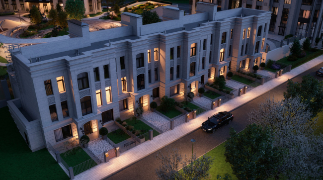 Городские резиденции «Spires»