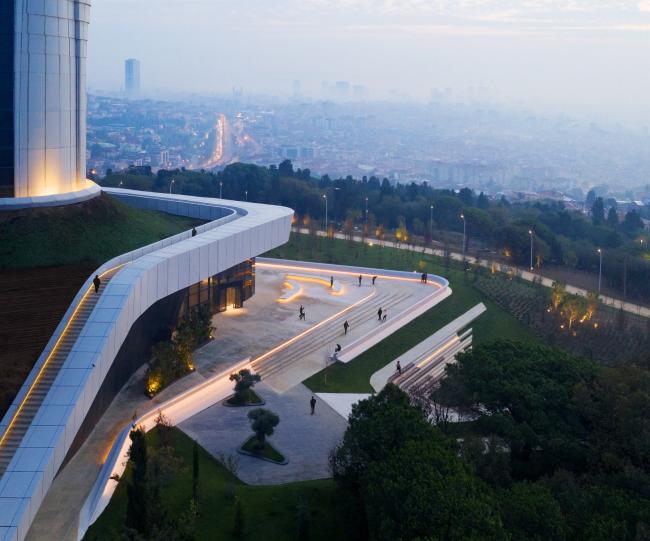 Телерадиобашня Кючюк-Чамлыджа в Стамбуле