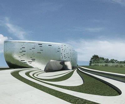Заха Хадид. Архитектурный музей Next Gene