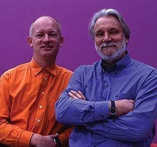 Мануэль Шупп (слева) и его партнер Майкл Вилфорд (Бюро Вилфорд Шупп Аркитектен)