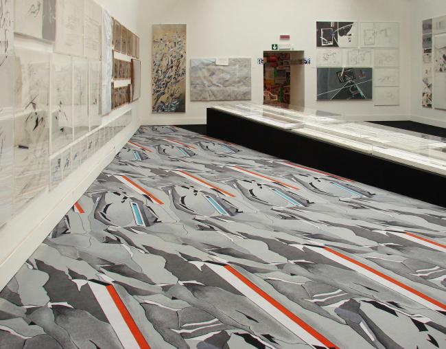 Павильон Италии, «мастера эксперимента». Абстрактная живопись Захи Хадид – и ковер