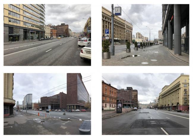 Многофункциональный комплекс на Мясницкой улице. Существующее положение