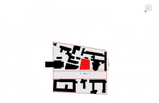 Многофункциональный комплекс на Мясницкой улице. Участок под застройку, параметры