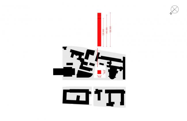 Многофункциональный комплекс на Мясницкой улице. Изменение габаритов, пропорций и стилистического решения