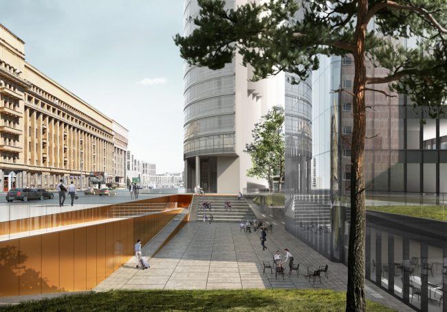 Многофункциональный комплекс на Мясницкой улице