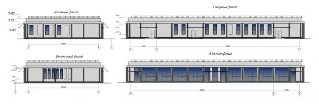 Проект реконструкции СКК «Петербургский». Павильон 2