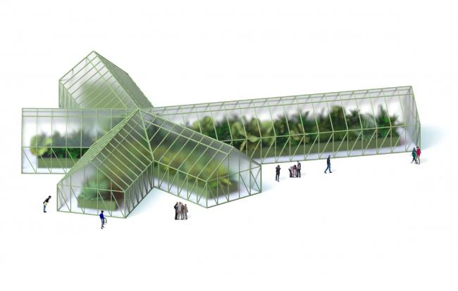 Парк «Швейцария». Оранжерея в Ландшафтном парке