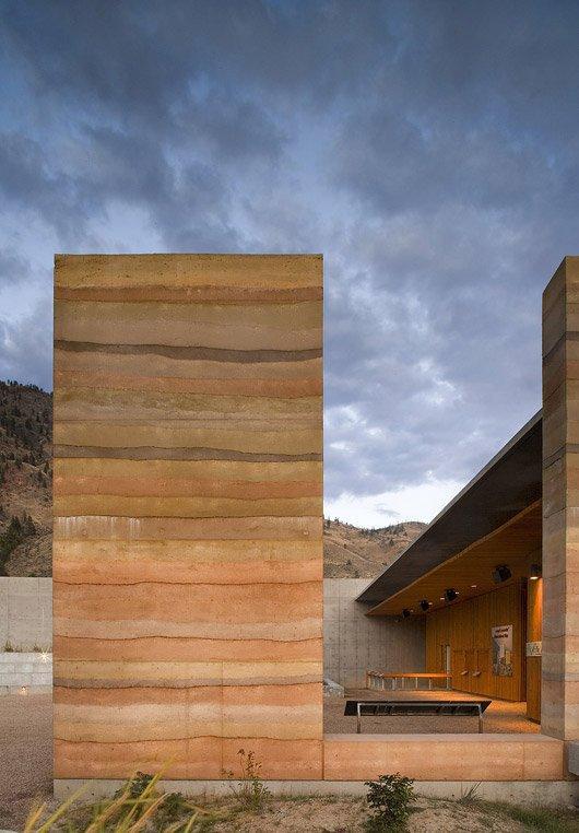 Культурный центр пустыни Нк' Мип мастерской Hotson Bakker Boniface Haden Architects