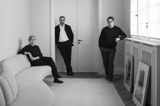 Sebastian Treese Architekten. Слева направо Юлия Треезе (Julia Treese), Ян Бургграф (Jan Burggraf), Себастиан Треезе (Sebastian Treese).
