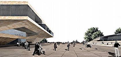 Проект театрального и конгресс-центра