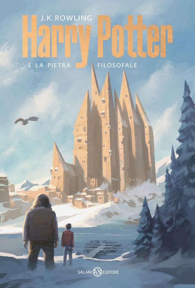Обложка книги «Гарри Поттер и философский камень»