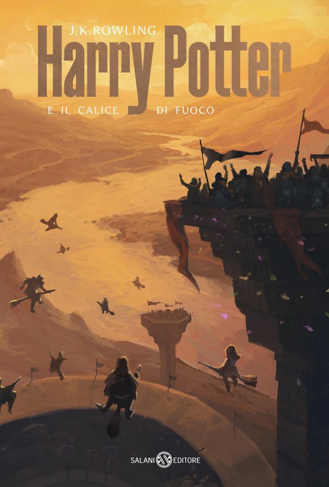 Обложка книги «Гарри Поттер и Кубок Огня»