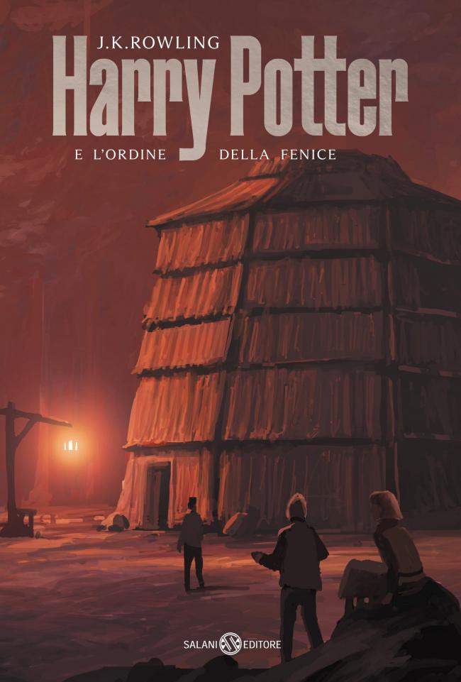 Обложка книги «Гарри Поттер и Орден Феникса»