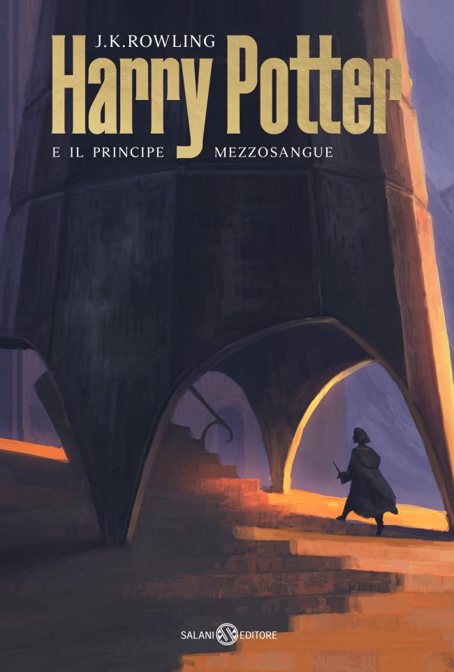 Обложка книги «Гарри Поттер и Принц-Полукровка»