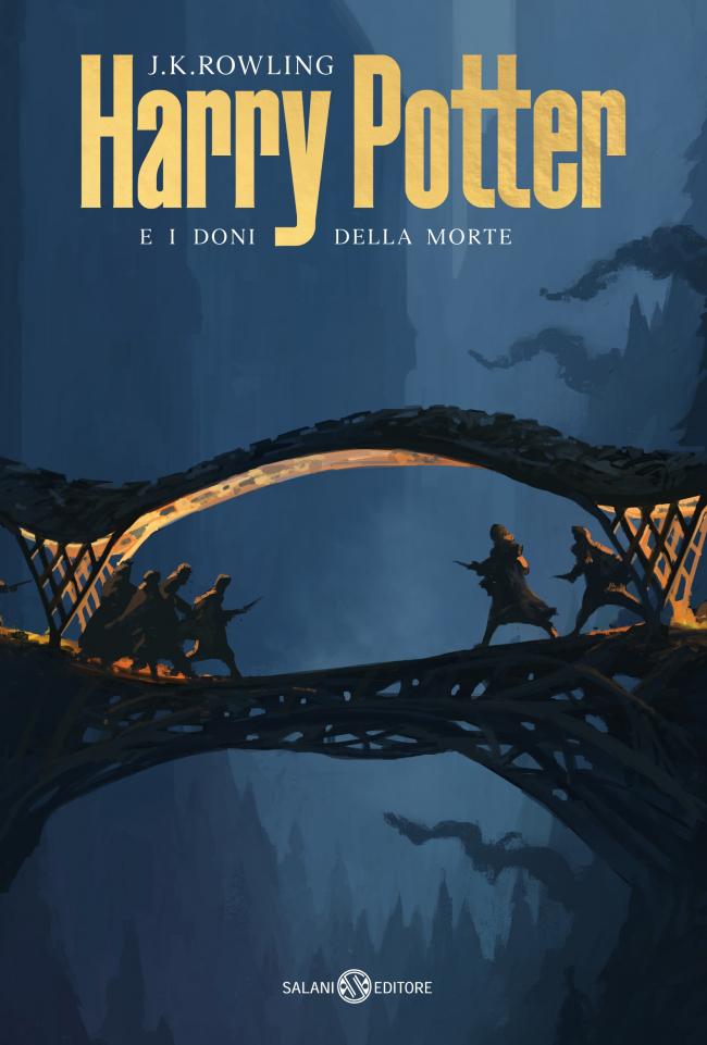 Обложка книги «Гарри Поттер и Дары Смерти»