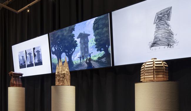 Выставка, посвященная переосмыслению обложек серии романов о Гарри Поттере