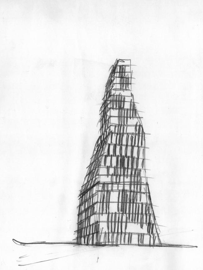 Эскиз к дизайну обложки книги  «Гарри Поттер и узник Азкабана»