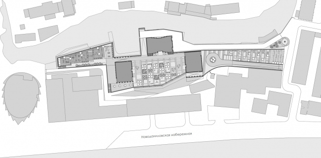 "The masterplan. The apartment complex ""Novodanilovskaya 8"""