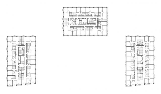 План 26 этажа. Апарт-комплекс «Новоданиловская 8»