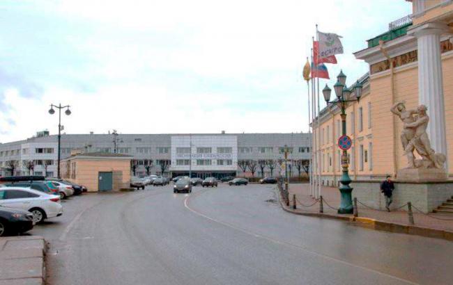 Жилой комплекс «Красин». Общий вид на территорию бывшего Масляного буяна со стороны Горного института. © Студия 44