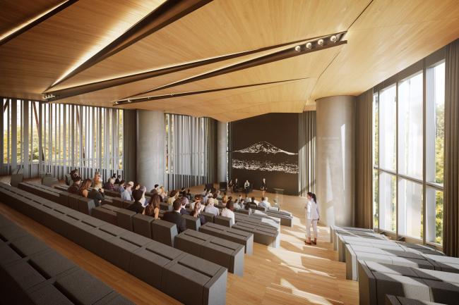 Башня Hekla. Hekla Auditorium