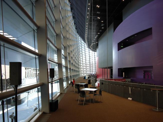 Театр Curve. Фото: Steve Cadman via flickr.com. Лицензия CC BY-SA 2.0