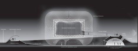 Павильон Великобритании на ЭКСПО-2010. Конкурсный проект