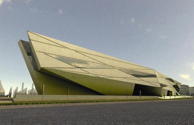 Библиотека Севильского Университета. Конкурсный проект