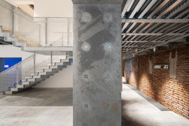 Реконструкция павильона России на биеннале в Венеции, 2020-2021 / реализация / 05.2021