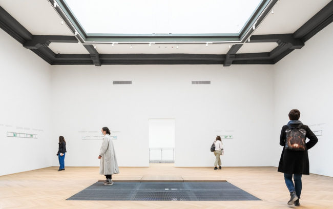 Центральный зал. Реконструкция павильона России на биеннале в Венеции, 2020-2021 / реализация / 05.2021