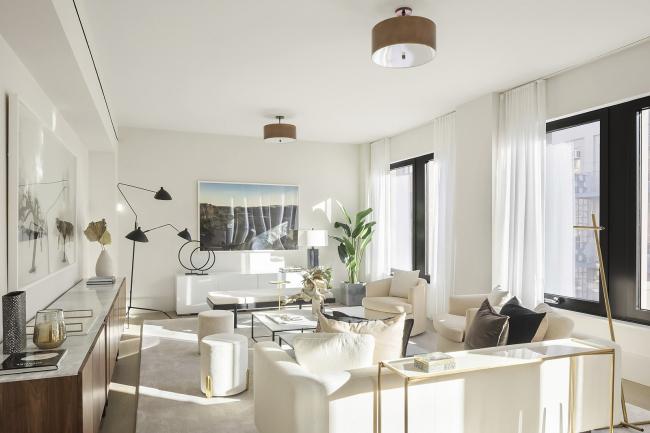 Жилой комплекс 11-19 Jane Street. Интерьер по проекту нью-йоркского дизайнера