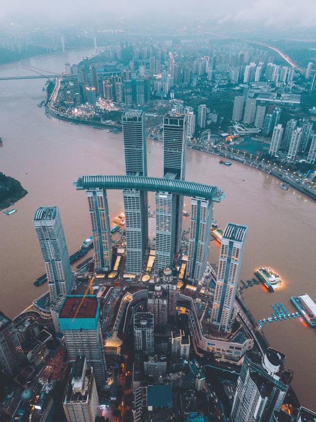 Комплекс небоскребов Raffles City