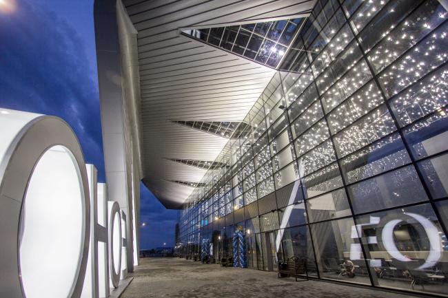 Пассажирский терминал аэропорта в Кемерово