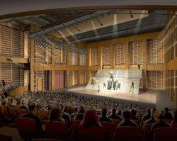 Театр «Сидни Харман Холл». Проект