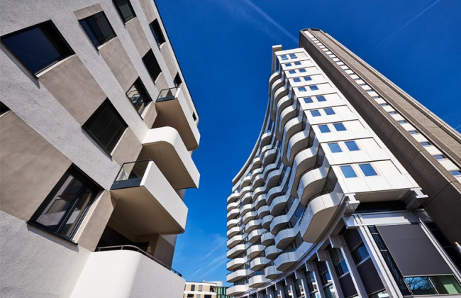 Residential, FLOW Tower, Cologne, Germany
