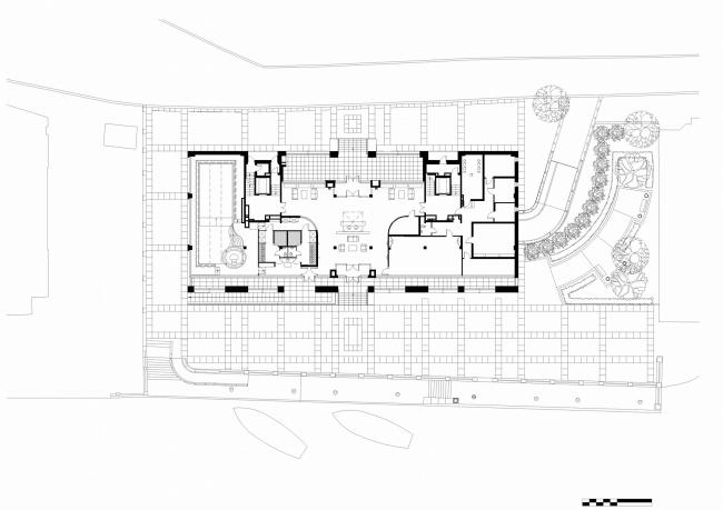 Жилой дом «Stella Maris». Постройка, 2007. Генеральный план © Евгений Герасимов и партнеры
