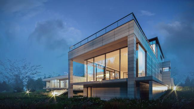 Проект загородного дома Buena Vista
