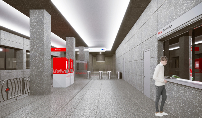 Станция «Кунцевская» Большой кольцевой линии