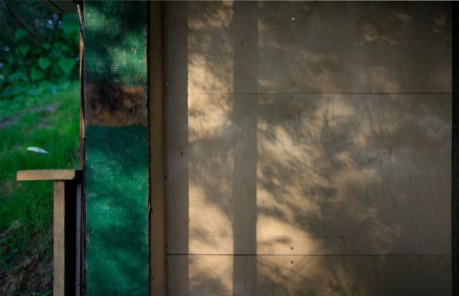 Парк Александра Бродского в Веретьево. Павильон Эрмитаж / Дом отшельника