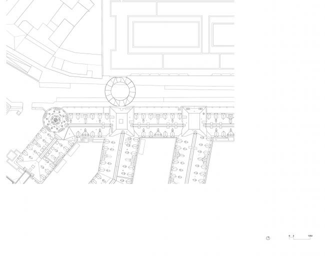 План участка. Мост «Тондо» в Брюсселе