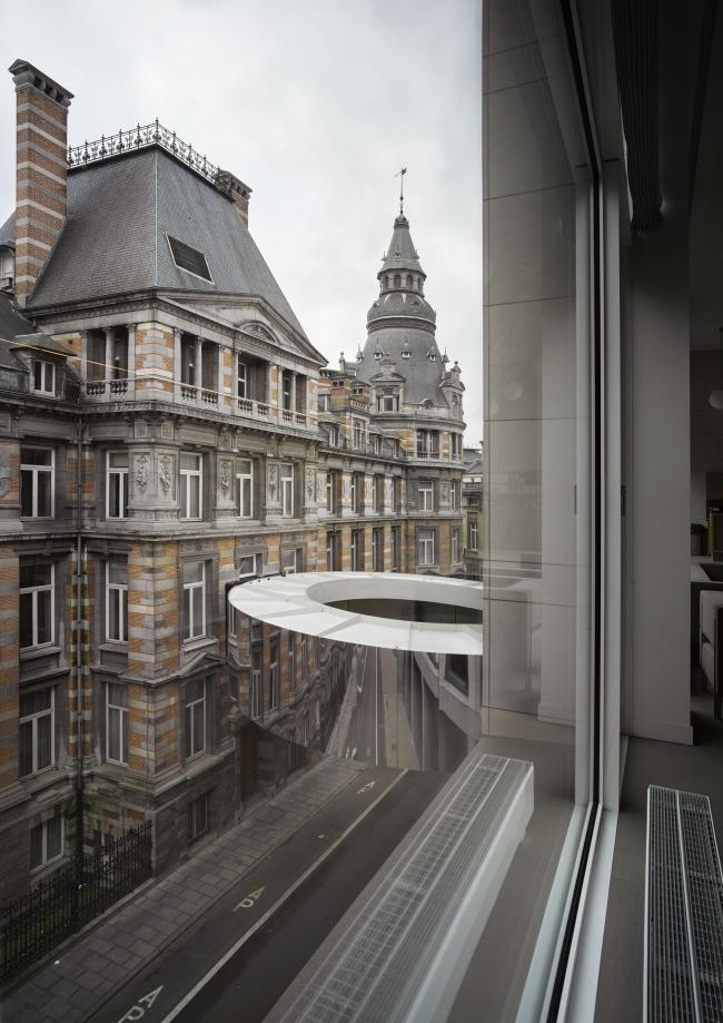 Мост «Тондо» в Брюсселе