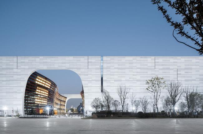 Музей и библиотека Цзяшаня