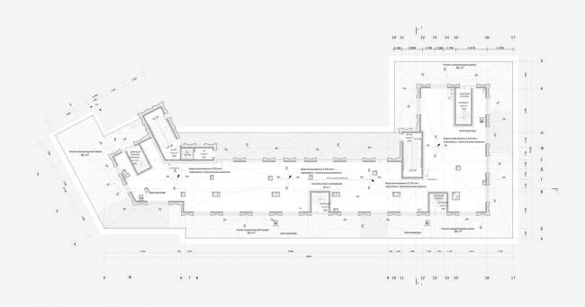 Реконструкция здания гостиницы «Варшава». План выхода на кровлю
