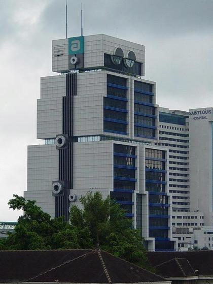 «Банк Азии», Бангкок. Главный фасад