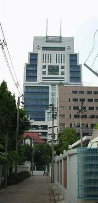 «Банк Азии», Бангкок. Задний фасад