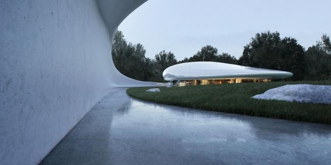 «Облачный центр» в Центре искусств Aranya