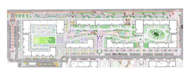 Мастер план 2021 г.  Жилой комплекс Файна Таун