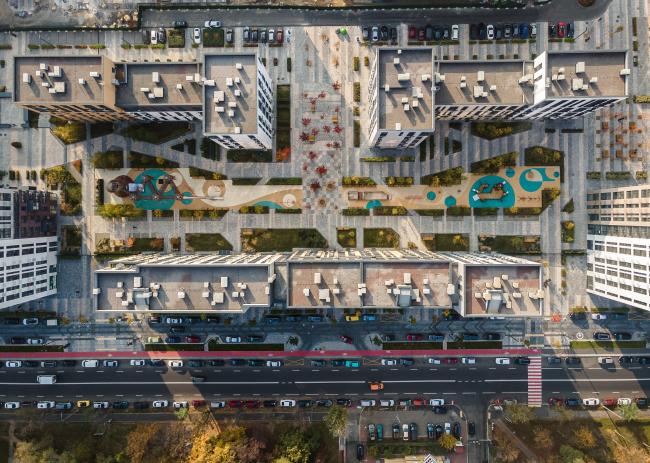 Жилой комплекс Файна Таун 1-2 очередь 2020г