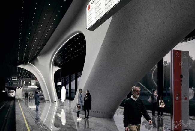 Станция метро «Новомосковская». Сокольническая линия