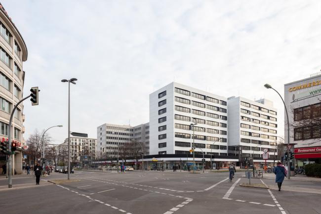 Реконструкция офисного здания Blissestrasse 5 в Берлине